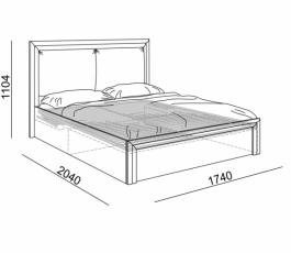 """Спальня """"Глэдис"""", кровать с подъёмным механизмом. купить в Калининграде"""