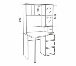 Компьютерный стол «Style-1» купить в Калининграде